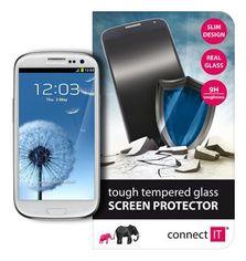 Samsung S3- Ochranná sklenená fólia CONNECT IT