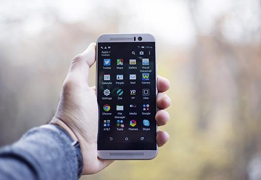 zachránený mobil