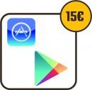 Nastavenie služby App store a Google play