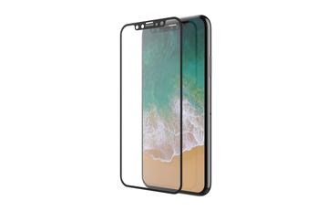 DEVIA iPhone X/XS/11 PRO, čierne - Tvrdené 3D sklo Temperované