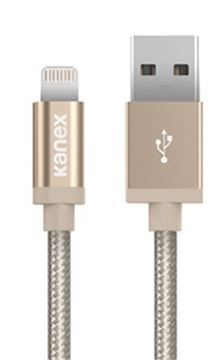 Kanex Lightning to USB Cable MFI - 1.2m, al.gold