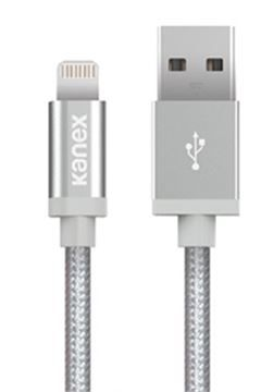 Kanex Lightning to USB Cable MFI - 1.2m, al.silver